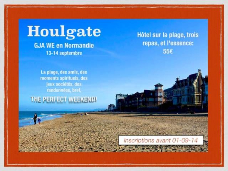 Un Week-End à Houlgate ?